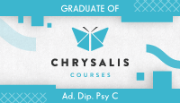 I'm a graduate of Chrysalis Courses